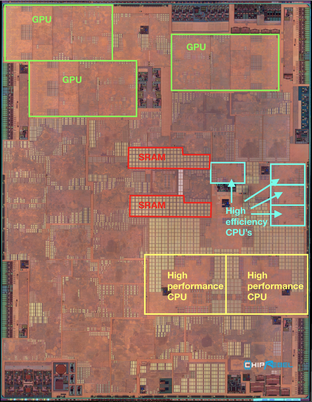 2017 Ram Rebel >> Apple A11 Bionic chip image TMHS09