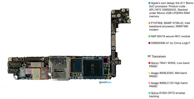iphone 8 model a1905 teardown